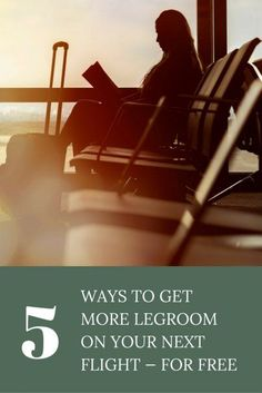 5 Ways to get more legroom on your next flight - for free!