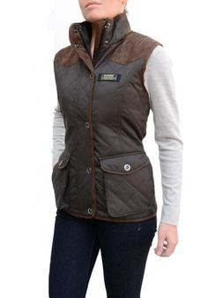 Baviera Women S Quilted Lightweight Vest 98 Travel Pocket Safe Phone Jacket Vest Ladies