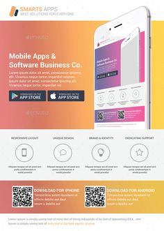 Buy Mobile Apps Promotion Flyers Bundle by GraphicForestNet on GraphicRiver. Android App Design, Iphone App Design, Mobile App Design, Best App Design, Web Design, Brochure Design, Brochure Template, Profile App, Dashboard App