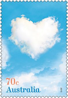 The Love is in the Air stamp issue is released for Valentine's Day. Purchase in-store or online: http://auspo.st/1x1oZjn