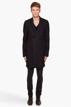 3.1 Phillip Lim Slim Top Coat for men - StyleSays