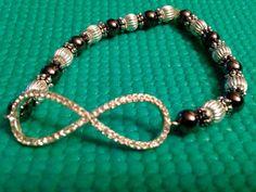 Infinity link bracelet by AnotherFRcreation on Etsy