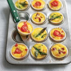 6 Appetizers You Can Create for Thanksgiving - Crustless Mini-Quiches