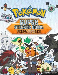 A deluxe Stickerbook for Pokemon Black Version/White Version (Unova Region) With…