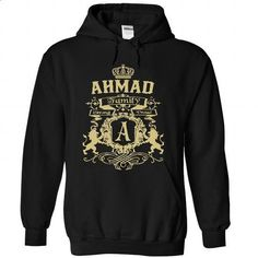 AHMAD Family T-shirt 30-03 - #pocket tee #tshirt pillow. GET YOURS => https://www.sunfrog.com/Names/AHMAD-Family-T-shirt-30-03-3641-Black-34461440-Hoodie.html?68278