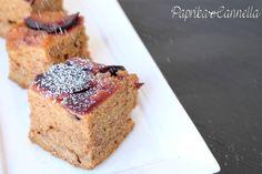 Torta rovesciata alle prugne - Paprika e Cannella