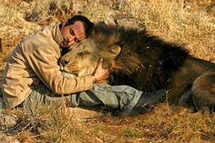"""KEVIN RICHARSON.......LION MAN...... """" KINGDOM OF THE WHITE LION """".......SOUTH AFRICA........"""