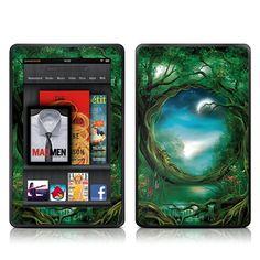 Nice looking Green Kindle Fire Skin