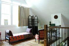 My Houzz: A Rustic, Stress-free Mountain Home in Mentone, Alabama - rustic - bedroom - birmingham - Corynne Pless