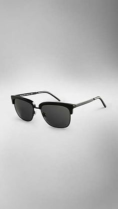 b1d79d0b0aa9 Trench Collection Square Frame Sunglasses Sunglass Frames, Gifts For Him,  Trench, Sunglasses Women. Burberry United States