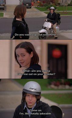 """I'm, like, totally adorable."" #saved #movie #comedy"