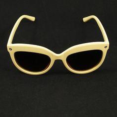 LA Sunglasses Beige Kattitude Sunglasses for sale at Cats Like Us  #retro #sunglasses #newarrivals #cateye #round #sunnie #accessories #pinup #rockabilly #fashion