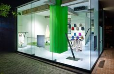 tokujin yoshioka designs reality lab for issey miyake in aoyama, tokyo