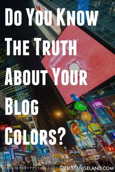 Blog colors are like little tattletales. They tell the world all about you. What colors are you using to get your message across? Are they the right ones? Get off to a strong start with the right colors even as you are learning how to blog. ★ Learn HOW To Blog ★
