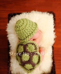 Free shipping baby hat cute tortoise style handmade crochet baby hat photography props baby hat