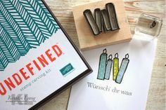 Stampin' Up! Undefined - Carved Candles