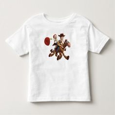 Toy Story 3 - Woody Jessie Toddler T-shirt. Cool Disney postage stamps, party invitations and stickers to help in throwing the perfect Toy Story themed birthday party.