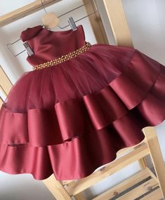 Baby Girl Dresses Diy, Baby Pageant Dresses, Kids Party Wear Dresses, Baby Girl Birthday Dress, Birthday Dresses, Birthday Frocks, Princess Dress Patterns, Baby Girl Dress Patterns, Princess Dress Kids