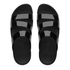 Superjelly™ Twist Rubber Slide Sandals  I LUST after these !!  GREAT STABLELIZING SHOE !!
