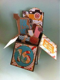 Stampin'  Silly Style: Smaak te pakken: card in a box