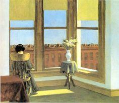 Edward Hopper (22 juillet 1882 - 15 mai 1967) est un peintre et graveur américain, qui exerça essentiellement son art à New York, où il avait son atelier. Il est considéré comme l'un des représentants du naturalisme ou de la scène américaine, parce qu'il peignait la vie quotidienne des classes moyennes.