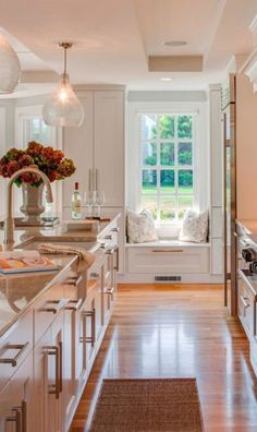 Love This Kitchen Design. Cape Cod Shingle Beach House With Coastal  Interiors