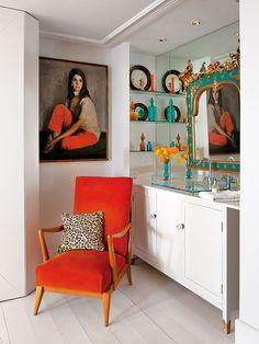 The Madrid home of artist and designer Aimee Joaristi. Image: Nuevo Estilo