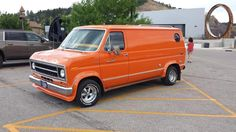 70's custom Ford van