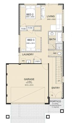 Reverse Living House Plans - √ 16 Reverse Living House Plans , Sunset Exclusive Switch Homes Switch Homes Narrow Lot One Level House Plans, Double Storey House Plans, Studio Floor Plans, House Floor Plans, 2 Storey House Design, Modern House Design, House Plans Australia, Upside Down House, Model House Plan