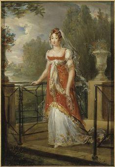 Caroline Murat by François Pascal Simon Gérard, 1807, Versailles