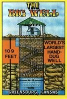 The World's Largest Hand Dug Well located in Kansas. Kansas Usa, State Of Kansas, Greensburg Kansas, Oh The Places You'll Go, Places Ive Been, Good Old, Bald Eagle, Summer Fun, Worlds Largest