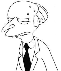 The Simpsons Mr Burns