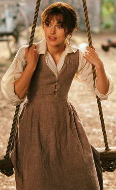 Keira Knightley as Elizabeth Bennet, Pride & Prejudice (2005) Costume…