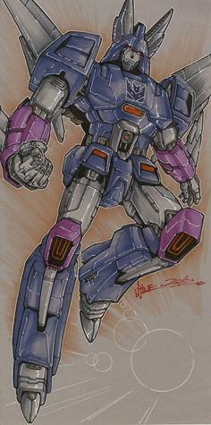 Cyclonus by *markerguru on deviantART - Transformers Decepticon