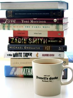 Books and coffee - no better pair in the world!