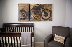 Motorcycle Themed Nursery
