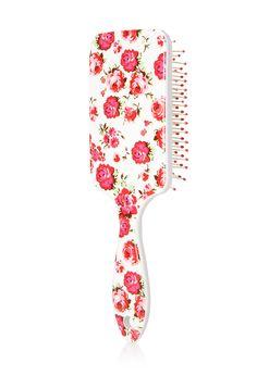 Romantic Rose Paddle Brush | FOREVER21 - 1000087687