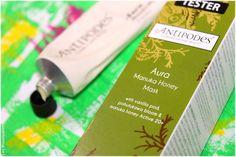 Aura, manuka honey mask - Antipodes, Ecocentric - Blog beauté