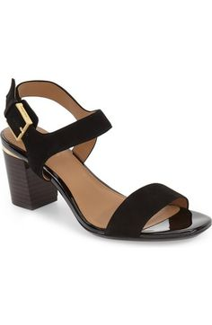 Calvin Klein 'Cimi' Block Heel Sandal (Women) available at #Nordstrom