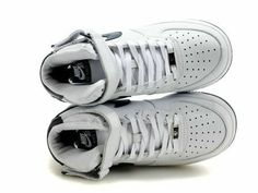 55a623016646 Nike Air Force 1 07 Mid Players Edition White Midnight Navy Sneakers