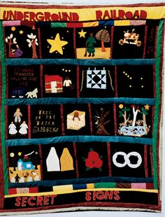 Threads of Freedom: The Underground Railroad Story in Quilts