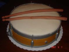 Snare Drum groom's cake