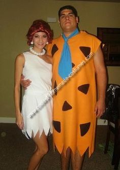 how to make fred and wilma flintstone costumes for halloween wilma flintstone costume wilma flintstone and costumes - Flinstones Halloween