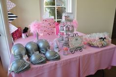 "Photo 4 of 141: Vintage crown w/ pink damask, feathers  black  white / Birthday ""Talia's vintage princess crown 1st bday"" 