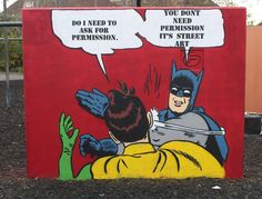 Angus is a talented street artist from Bristol (UK) who likes to create (mainly) stencil cartoons with tongue-in-cheek messages… a process he says is fun because it reaches such a wide variety of …