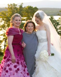Hillary Clinton, her mom and daughter Chelsea