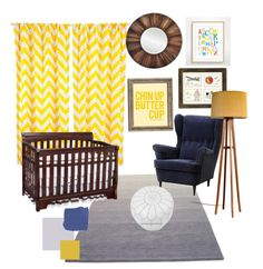 Mod Yellow & Navy Nursery