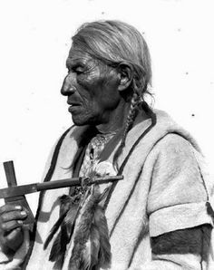 Historic Photos of the Native American Assinboine Indians