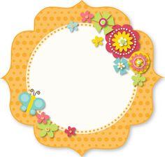 Scrapbook Frames, Scrapbook Embellishments, Cute Clipart, Frame Clipart, Printable Designs, Printable Labels, Printables, Printable Border, Diy And Crafts