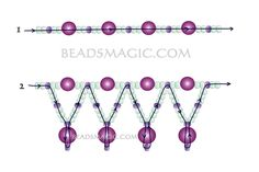 Free pattern for necklace Tenderness | Beads Magic | Bloglovin'